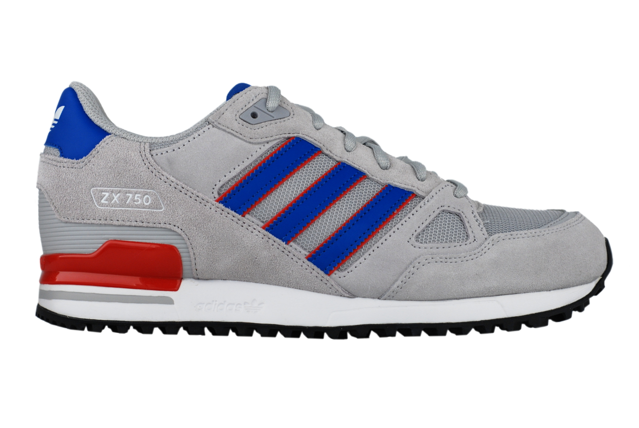 adidas zx 750 originals by9271 sneaker schuhe grau blau. Black Bedroom Furniture Sets. Home Design Ideas