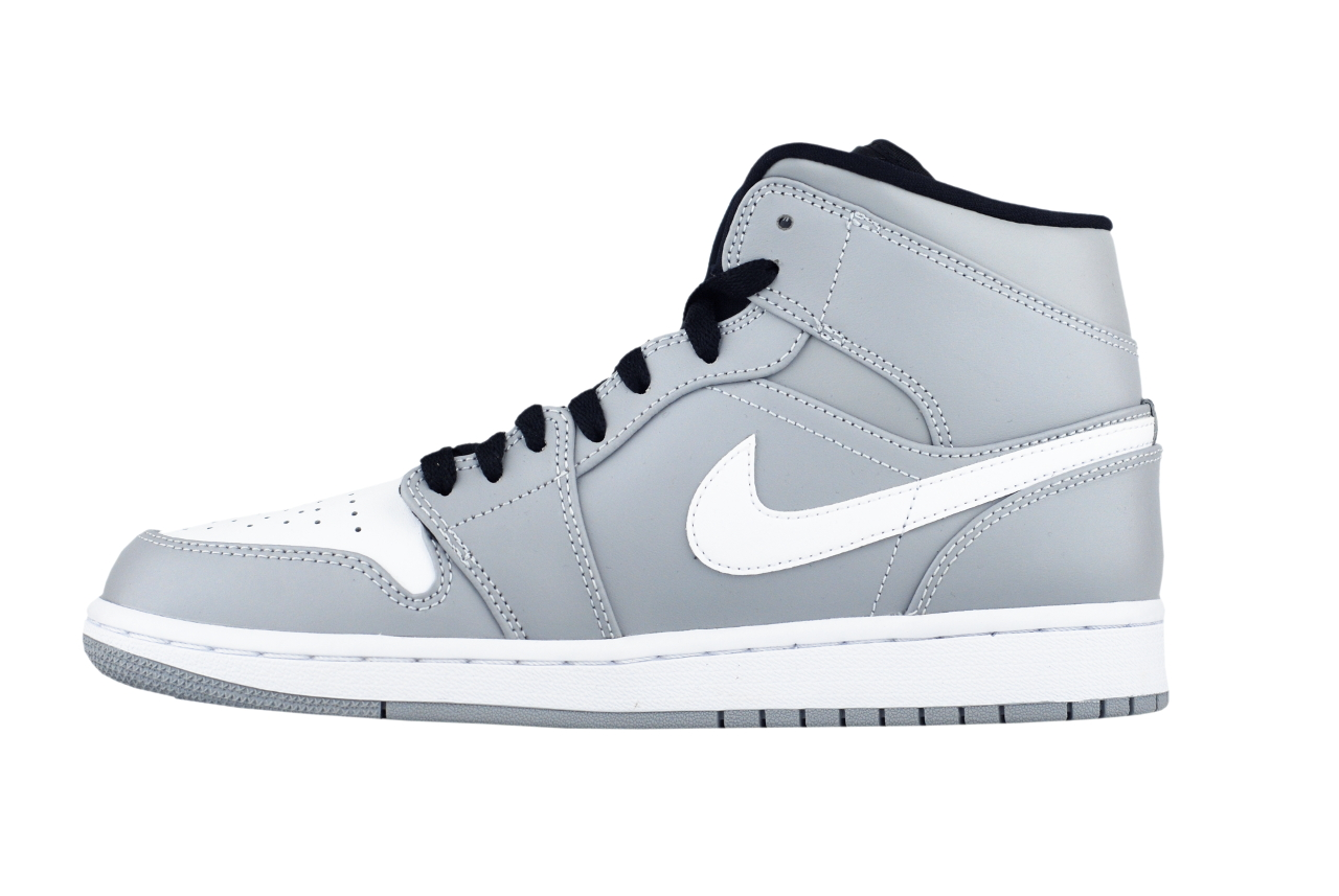 detailed look 5801d 040ce Nike AIR JORDAN 1 MID 554724 046 Herren Basketballschu Turnschuhe ...